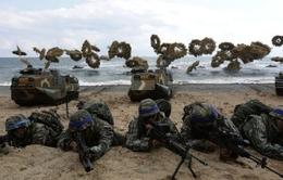 Triều Tiên đề nghị LHQ họp khẩn về tập trận Hàn - Mỹ