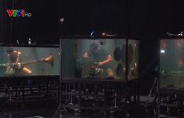 Nhóm nhạc nổi tiếng thế giới nhờ trình diễn nhạc cụ dưới nước