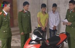 Hà Tĩnh: Bắt 2 đối tượng phá khóa trộm xe máy