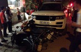 Bắt đối tượng cướp xe Range Rover gây tai nạn liên hoàn ở Hà Nội