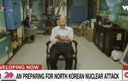 Người dân Nhật Bản chuẩn bị hầm trú ẩn tránh thảm họa