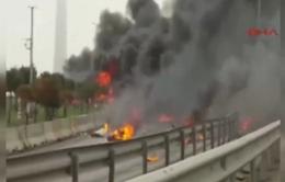 Rơi trực thăng tại Thổ Nhĩ Kỳ, ít nhất 5 người thiệt mạng