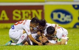 TRỰC TIẾP Vòng 19 V.League 2017: XSKT Cần Thơ 0-0 FLC Thanh Hóa, CLB TP Hồ Chí Minh - HAGL