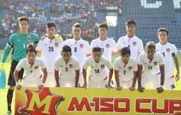 TRỰC TIẾP BÓNG ĐÁ M-150 Cup, U23 Myanmar - U23 Uzbekistan: 20h00 hôm nay (11/12) trên VTV6
