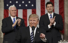 Tổng thống Mỹ Donald Trump lần đầu phát biểu trước Quốc hội