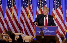 Ông Trump lần đầu tiên họp báo kể từ khi đắc cử