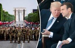 Pháp mượn dịp Quốc khánh để củng cố quan hệ với Mỹ
