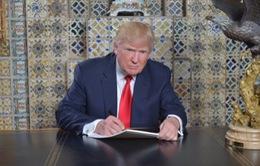 Ông Donald Trump tự viết lời diễn văn nhậm chức