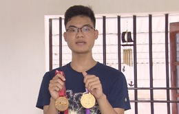 Café sáng với VTV3: Gặp nam sinh quê lúa 2 lần giành HCV Olympic Toán quốc tế