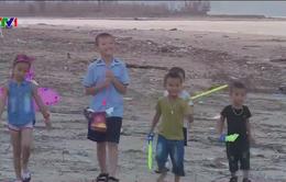 Trung thu của trẻ em vùng tâm bão Quảng Bình