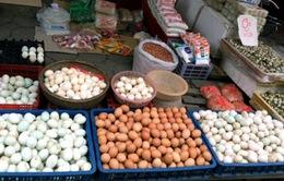 Giá các loại gia cầm, trứng gia cầm bán ra tại hộ chăn nuôi giảm mạnh