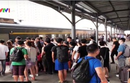 Trung Quốc: Nhà ga, bến tàu chật cứng dịp Quốc khánh