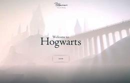Trải nghiệm trường học phù thủy Hogwarts qua công nghệ kỹ thuật số