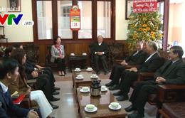 Trưởng Ban Dân vận Trung ương thăm Tòa giám mục Đà Lạt