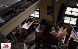 Báo động mất an toàn công trình trường học