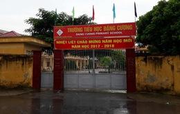 Thanh tra huyện phát hiện trường Tiểu học Đặng Cương có nhiều sai phạm