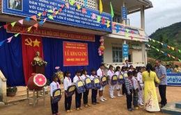 Thêm 1 điểm trường khang trang cho học sinh huyện nghèo Kon Rẫy, Kon Tum