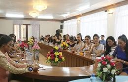 Thí sinh Hoa hậu Hữu nghị ASEAN hướng đến hình ảnh phụ nữ Đông Nam Á thời kỳ hội nhập