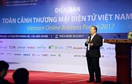 Hà Nội và TP HCM dẫn đầu về Chỉ số Thương mại điện tử 2017