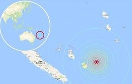 Sóng thần sau động đất ở Nam Thái Bình Dương