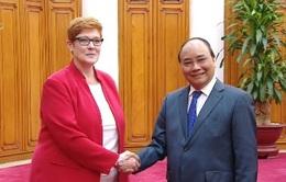 Thủ tướng tiếp Bộ trưởng Bộ Quốc phòng Australia