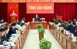 Thủ tướng mong muốn tỉnh Cao Bằng phát triển '3 nhất'
