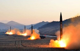 Nhật Bản và Hàn Quốc phản ứng vụ phóng tên lửa của Triều Tiên