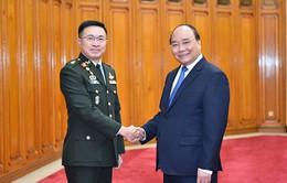Thủ tướng tiếp Tư lệnh Lực lượng Quốc phòng Thái Lan