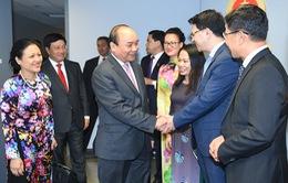 Thủ tướng thăm phái đoàn Việt Nam tại Liên Hợp Quốc