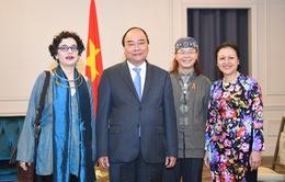 Thủ tướng tiếp vợ chồng Giáo sư Ngô Thanh Nhàn