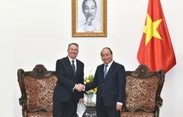 """Thủ tướng Nguyễn Xuân Phúc: """"Anh luôn là đối tác chiến lược của Việt Nam"""""""