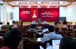 UBND tỉnh Thừa Thiên Huế họp báo thường kỳ Quý III