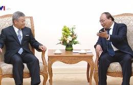 Thủ tướng tiếp Chủ tịch Tập đoàn truyền thông Nikkei