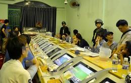 Lực lượng công an vây bắt sòng bạc lớn ở TP.HCM