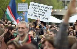 Hungary tái diễn biểu tình phản đối luật mới về giáo dục đại học