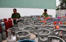 Phát hiện 6.000 vỏ bình gas tái chế không đảm bảo an toàn ở Tây Ninh