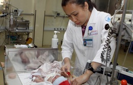 TP.HCM: Cấp cứu kịp thời trẻ sơ sinh mắc khối u máu kèm xuất huyết não