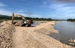 Kon Tum: Yêu cầu doanh nghiệp ngăn sông hút cát phải khắc phục hậu quả