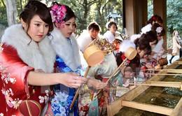 Nhật Bản tưng bừng chào đón Lễ trưởng thành