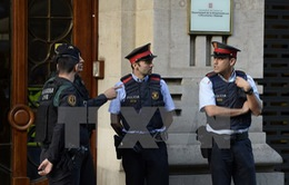 Tây Ban Nha bắt giữ hàng chục thành viên chính quyền vùng Catanolia