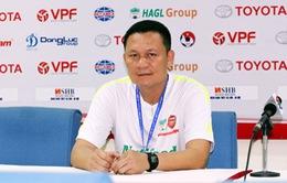 HLV Nguyễn Quốc Tuấn của HAGL tự tin trước cuộc đối đầu SHB Đà Nẵng