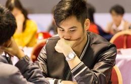 Niềm vui của kỳ thủ Trần Tuấn Minh với tấm HCV quốc gia đầu tiên