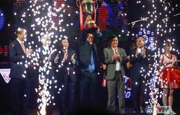 ẢNH: Toàn cảnh Gala trao giải các giải bóng đá chuyên nghiệp Việt Nam 2017