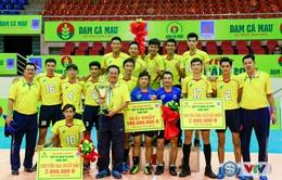 ẢNH: Đánh bại CLB Biên Phòng, CLB TP.HCM đoạt chức vô địch bóng chuyền nam Siêu cúp Quốc gia 2017