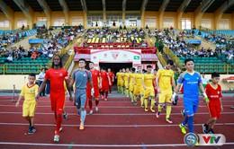 ẢNH: Những khoảnh khắc ấn tượng trận đấu SLNA 2-3 CLB Hải Phòng