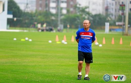 HLV Park Hang-seo với mục tiêu đánh bại đối thủ bằng phòng ngự