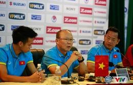 """HLV ĐT Việt Nam, Park Hang Seo: """"Tôi và các cầu thủ có niềm tin sẽ giành chiến thắng trước ĐT Afghanistan"""""""