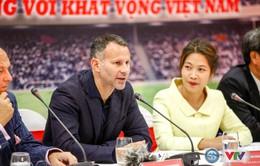 Ryan Giggs đặt mục tiêu giúp ĐTQG Việt Nam tham dự World Cup 2030