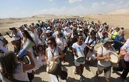 Hàng nghìn phụ nữ tuần hành vì hòa bình tại khu vực Bờ Tây