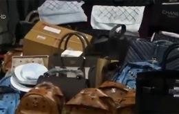 Thái Lan thu giữ nhiều túi xách nhái